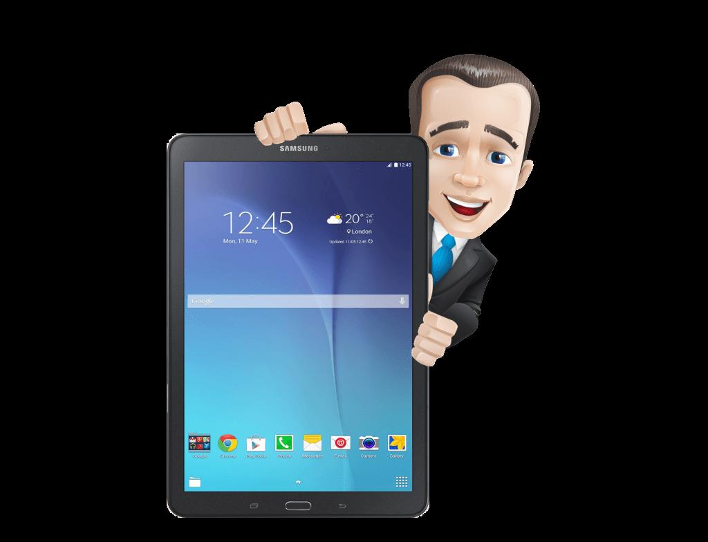 like en win actie Samsung Tablet